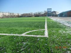 Construction of sports constructions