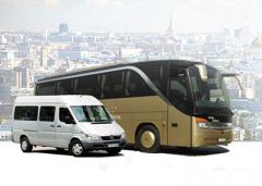 Lease of buses in Almaty