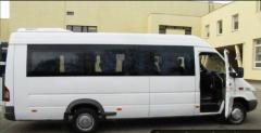 Transportations of passengers across Almaty