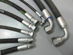 We make and restore hoses of a high pressure