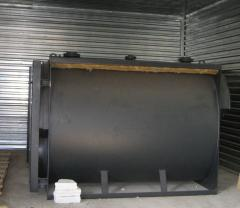Mounting of gas boilers