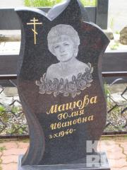 Drawing photograph on gravestone