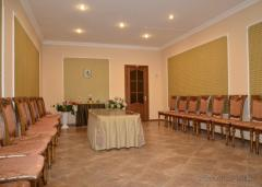 Providing information on banquet rooms for