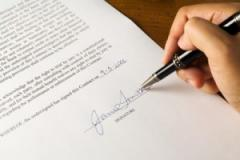 Conclusion of lifetime contracts