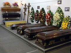 Organization of a funeral. Services in the