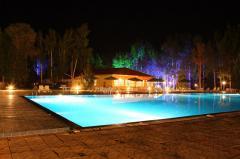 Issyk Kul northern coast hotel Solemar