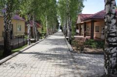 Issyk Kul northern coast Sinegorye's boarding