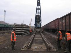 Construction and repair of the railroads