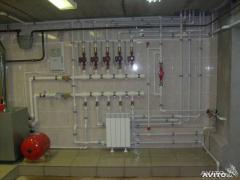 Монтаж отопительных систем в Казахстане