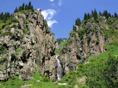 Weekend tours, Turgensky falls