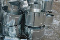 Production of air ducts in Almaty