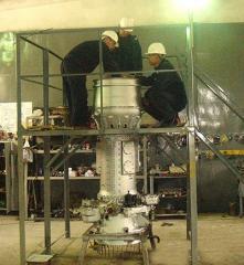 Repair, installation, service of gas-turbine power