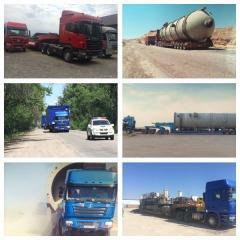 Перевозки негабаритных и сверхтяжелых грузов