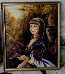 Портрет на заказ по фотографии