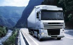 Cargo transportation by Euro-trucks