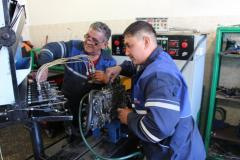 Repair of fuel systems of special equipmen