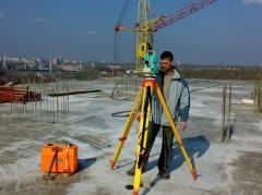 Construction maintenance geodetic