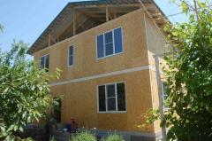 Строительство домов, коттеджей по канадской технологии из сэндвич панелей (сип)