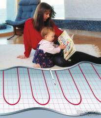 Installation of heat-insulated floor (Electric)