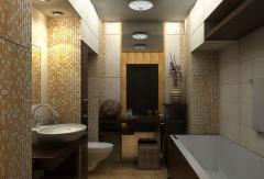 Ремонт ванной комнаты в Костанае, Казахстане