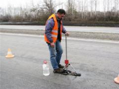 Diagnostics of highways in Kostanay, Kazakhstan