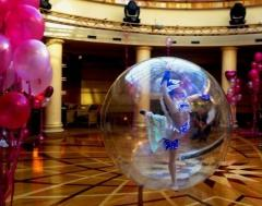 """The show """"Angel in a Sphere"""" in"""