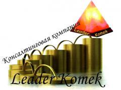 Подготовка документов в Шымкенте,Leader Komek,ТОО