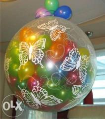 Sphere surprise in Almaty on a wedding