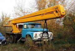 Услуги автовышки ЗиЛ 22 метра