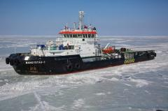 Sea operations in ice conditions