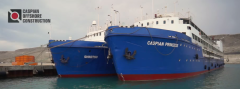 Services of floating hotels CASPIAN PRINCESS