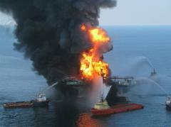 Elimination of emergency oil spills