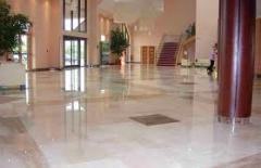 Laying of granite floors