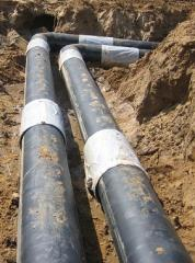 Hermal insulation of pipes