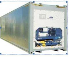 Rent of industrial refrigerating appliances