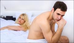 Treatment of erektilny dysfunction