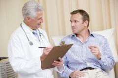 Treatment of adenoma of a prostate gland,