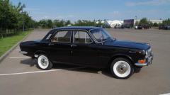 Hire of a retro of a car Volga