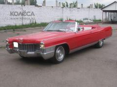 Hire of a retro of a car of Cadillac Eldorad