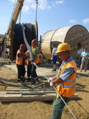 Laying of the Cable