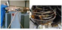 Repair of power transformers