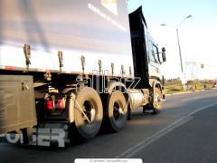 Transportation of the equipmen