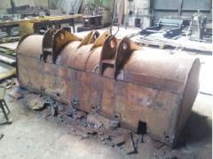 Repair of ladles of career equipmen