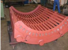 Production of the conveyor
