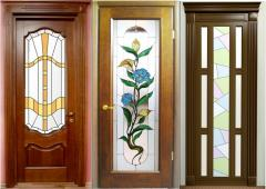 Doors interroom wooden Almaty to order