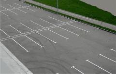 Updating and marking of parkings and parkings