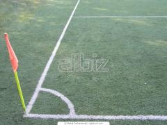 Marking of sports grounds, educational and