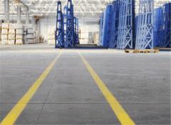 Разметка производственных площадей