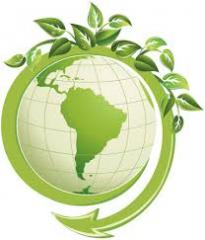 Work and services in the field of ecological