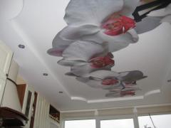 Photo printing on ceilings